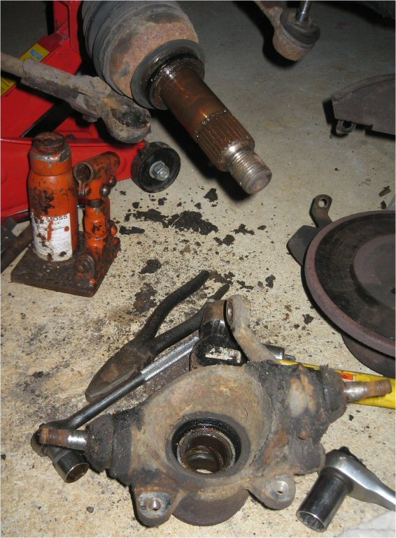 Replacing The Front Wheel Bearings My Mini Project